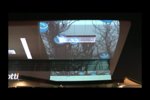 Video Mapping On Display