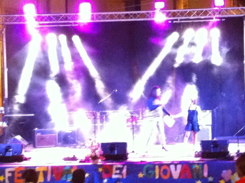 Esecuzione canora festival dei giovani 2013 Farindola