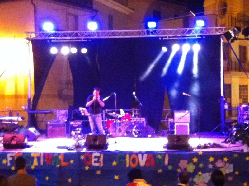 Cantante Palco Pescara