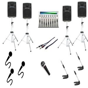 impianto audio 1600 watt