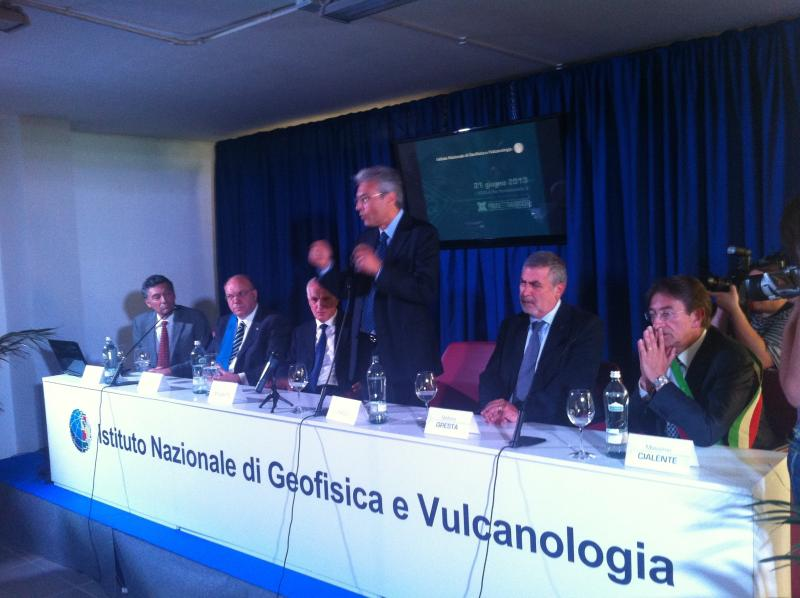 Presentazione nuova sede INGV