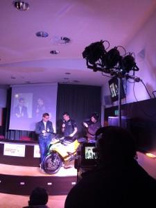 Inaugurazione Moto Kavasaky del Super Bike 2014 presso l'Aurum