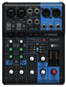 Mixer Audio Yamaha MG06X