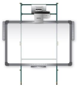 Struttura-per-LIM-e-proiettore-FlyBoard-2-per-pareti-in-cartongesso1
